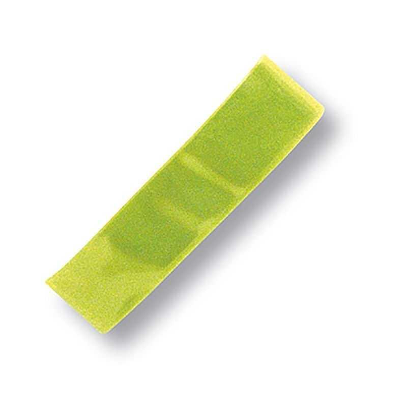 Brazalete reflectante seguridad amarillo  39x2.3 cms